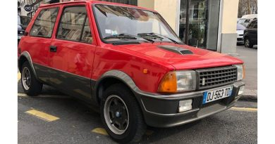 Innocenti de tomaso turbo de 1987 / 5900€