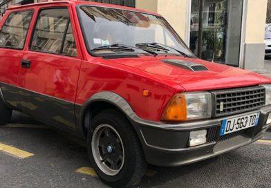 Innocenti de tomaso turbo de 1987 / 5900€